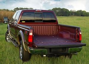 Ford Red Bedliner